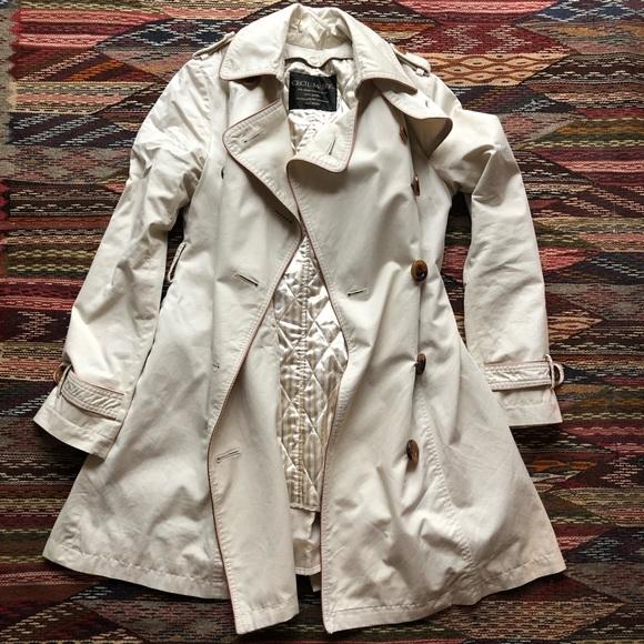 Cecil McBee Jackets & Blazers - Cecil McBee pea trench coat